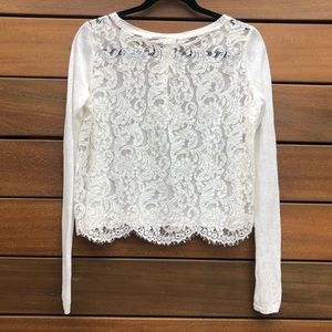 Joie lace sweater